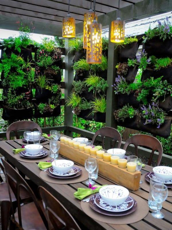 C mo crear espacios privados en la terraza o el jard n - Espacios verdes malaga ...