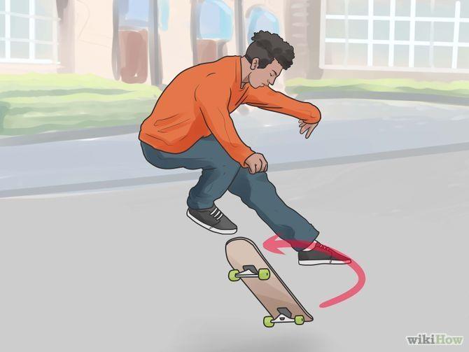 How To Skateboard Via Wikihow Com Papan Luncur Papan