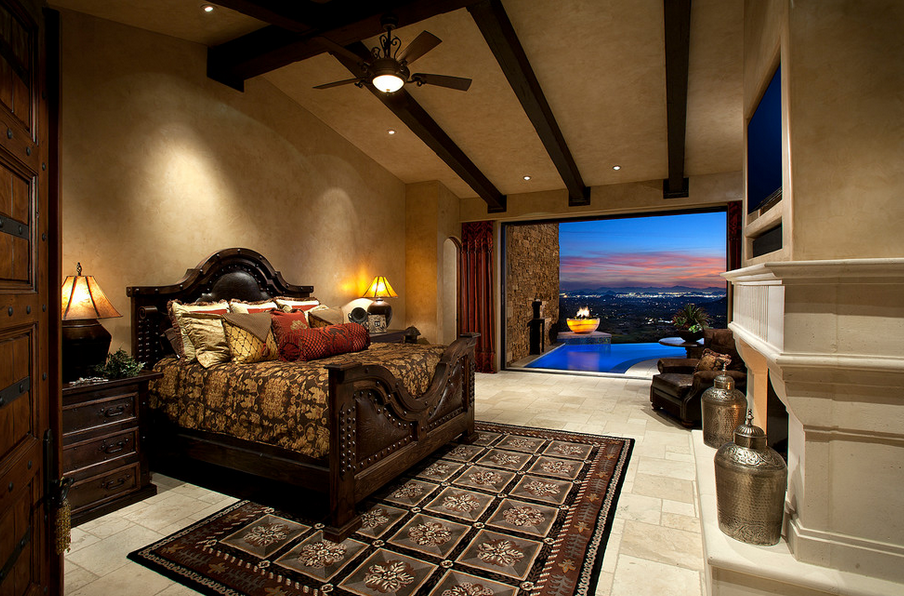 Luxury Sensual Bedroom Decor