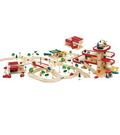 Plan City Parking Garage Or Another Similar In Same Scale Road System Cars See If Any Of Our Cars Would Work Gas S Plan Toys City Super Cabin Christmas