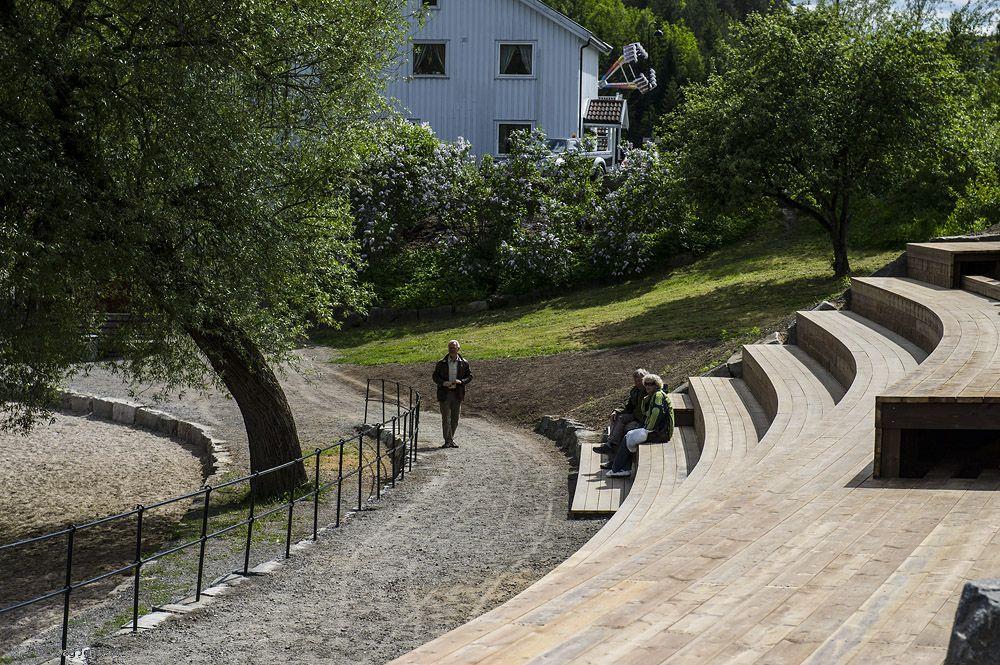 Toke Brygge, Drangedal_Stadutviklingsprosjekt utvikla av Feste Landskap. Foto Dag Jenssen