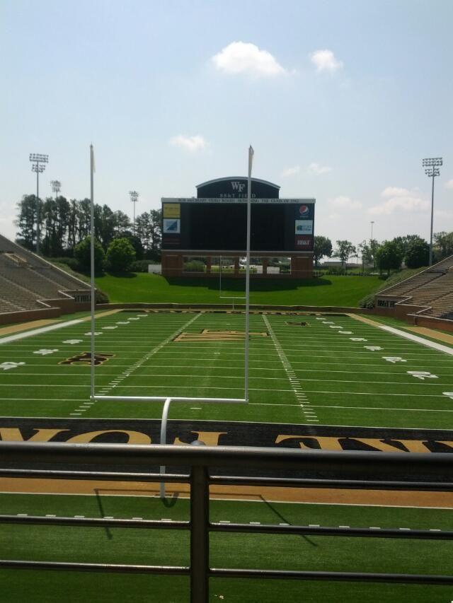 Wfu Football Field Football Field