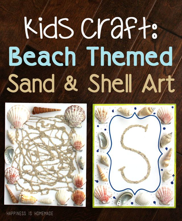 Beach Craft Ideas For Kids Part - 29: 20 Beach Themed Christmas DIY Ideas