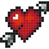 Ps I Love You Dessin Pixel Grille Pixel Art Et Dessin Sur