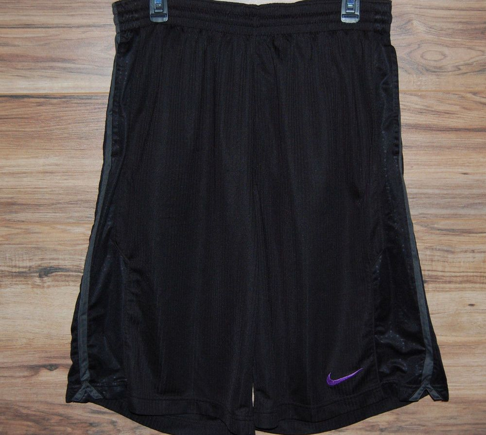 cca5dca822 Nike Kobe Basketball Shorts Dri-Fit Size XL Black Mamba Black Purple in  Clothing, Shoes & Accessories, Men's Clothing, Athletic Apparel