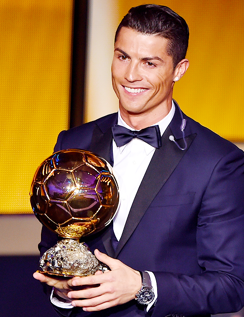 The winner of Ballon D'or 2014,the best footballer and the perfect man on earth ♥