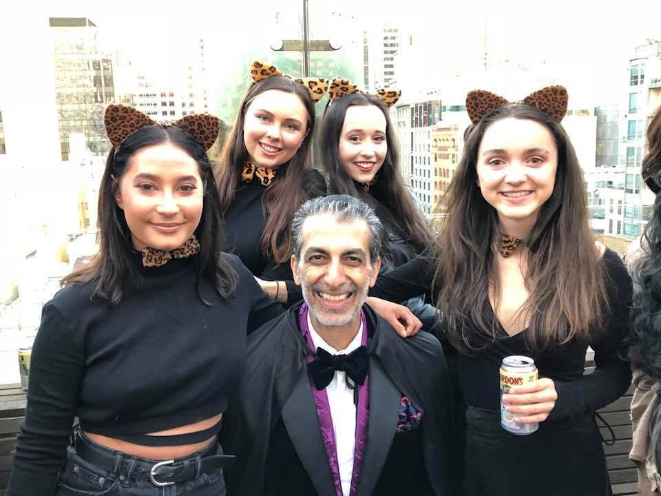 Work Christmas Party Ideas Melbourne Part - 39: 4 Café Cats And A Magician Go To A Christmas Party. Is There A Punchline?  No Body Knows.