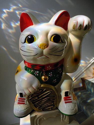 newest 1ef56 5de36 NIke SB Dunk Maneki Lucky  Money Cat Promo Statue  SUPER RARE low mid high