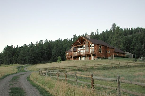 Picture of ranch house