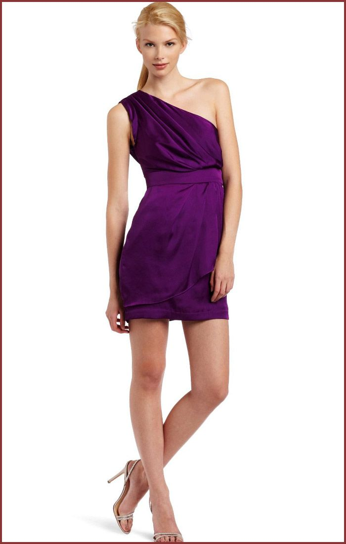 Purple cocktail dress, Beautiful and Cocktail dresses on Pinterest