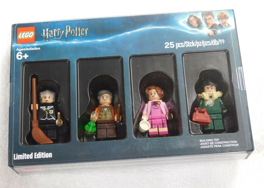 New Sealed LEGO Minifigures 5005254 Limited Edition Harry Potter Bricktober