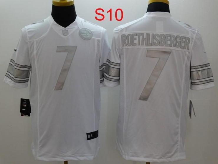 Men 7 Ben Roethlisberger Jersey Football Pittsburgh Steelers Jersey ... aebd4bf8e