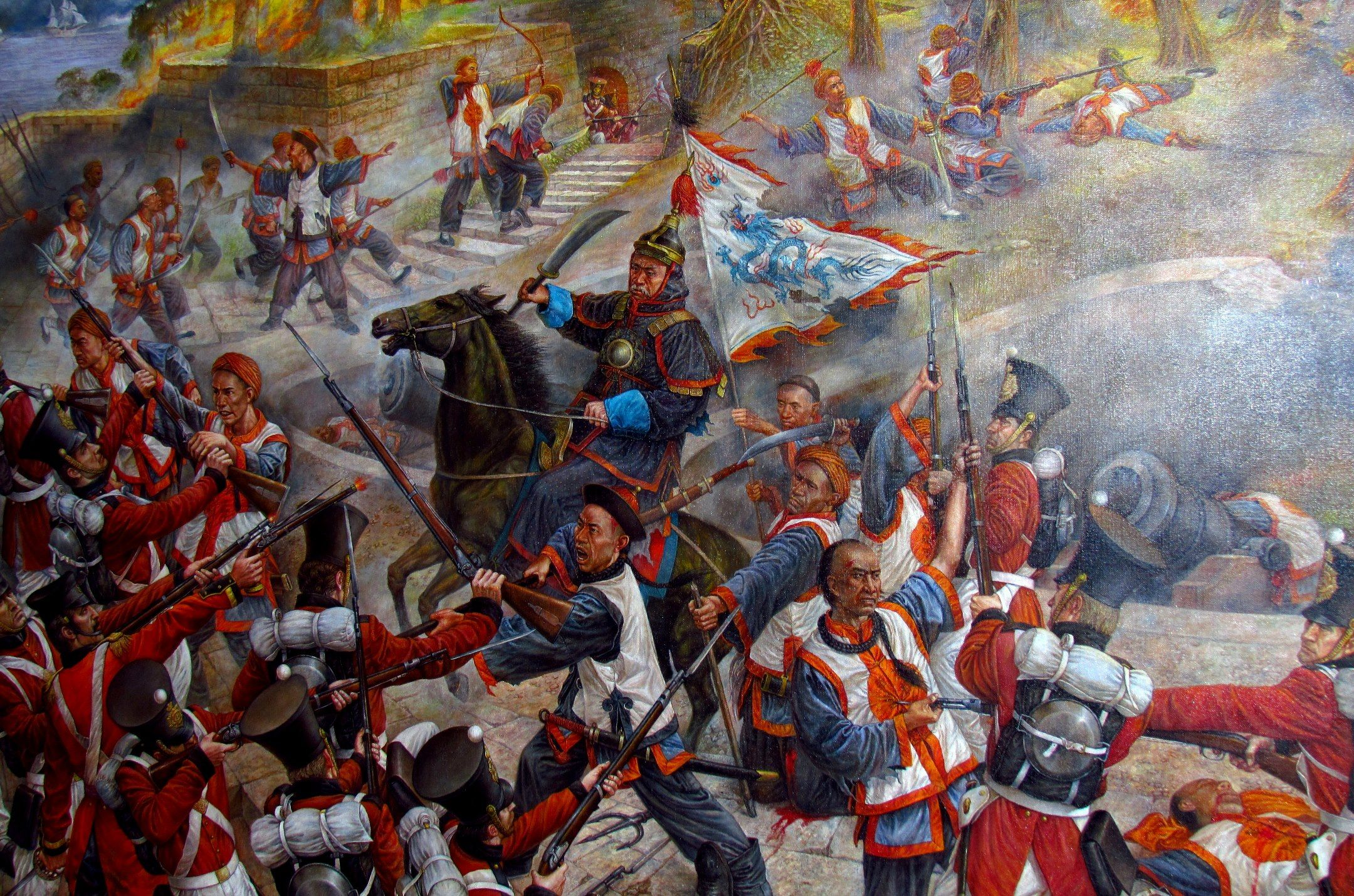 first opium war The opium wars in the mid-19th century were a critical juncture in modern  chinese history the first opium war was fought between china and great  britain.