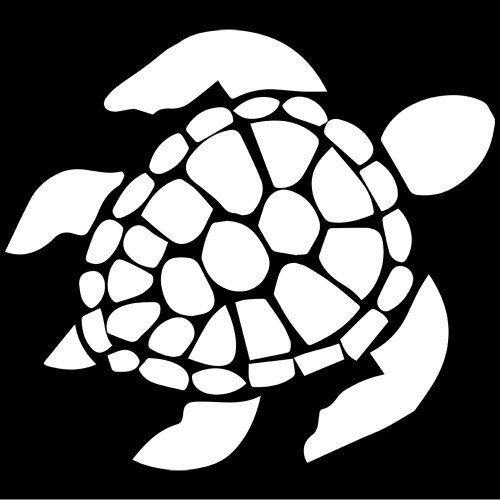 /'/'SIZES/'/' Running Turtle Art Decor Car Bumper Sticker