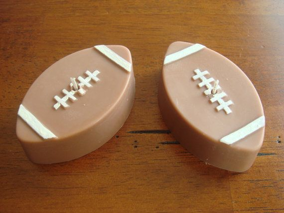 Football Soy Blend Floating Candle by JaxxCandles on Etsy, $3.00