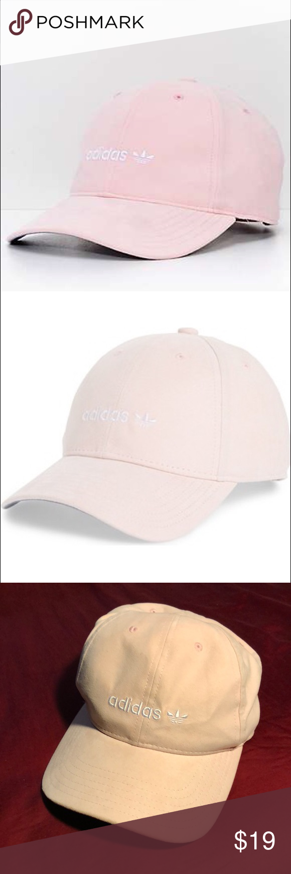 64497abca4c adidas Women s Relaxed Plus Blush Pink Cap Hat adidas brings you another  stylish accessory you can wear time and time again with the Relaxed Plus  Blush Pink ...