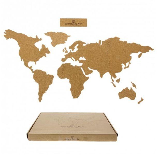 World map cork board cool stuff pinterest cork boards world map cork board gumiabroncs Image collections