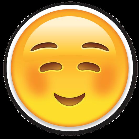 white smiling face emoji stickers emojis and emoji