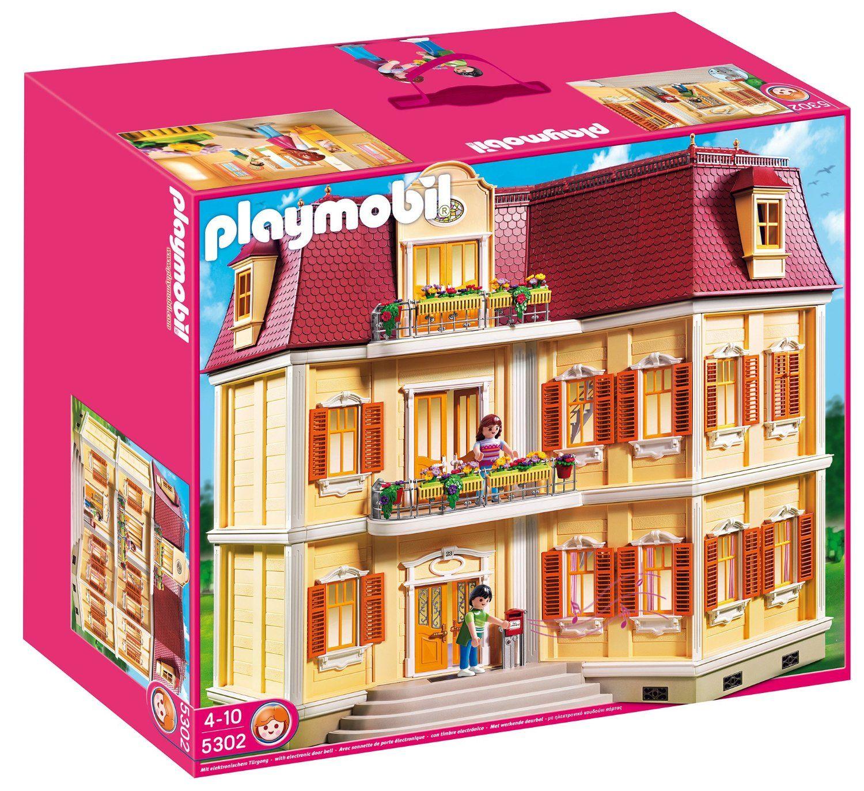 Playmobil 5302 Casa De Muñecas Amazon Es Juguetes Y Juegos Playmobil Playmobil Casa Casas De Muñecas