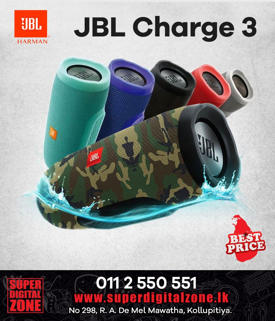 Jbl Charge 3 Jbl Charge Jbl Wireless Speakers Bluetooth