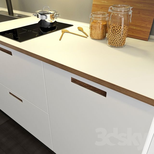 3d models: Kitchen - Kitchen IKEA Method-Märsta (Marsta) | Keuken ...