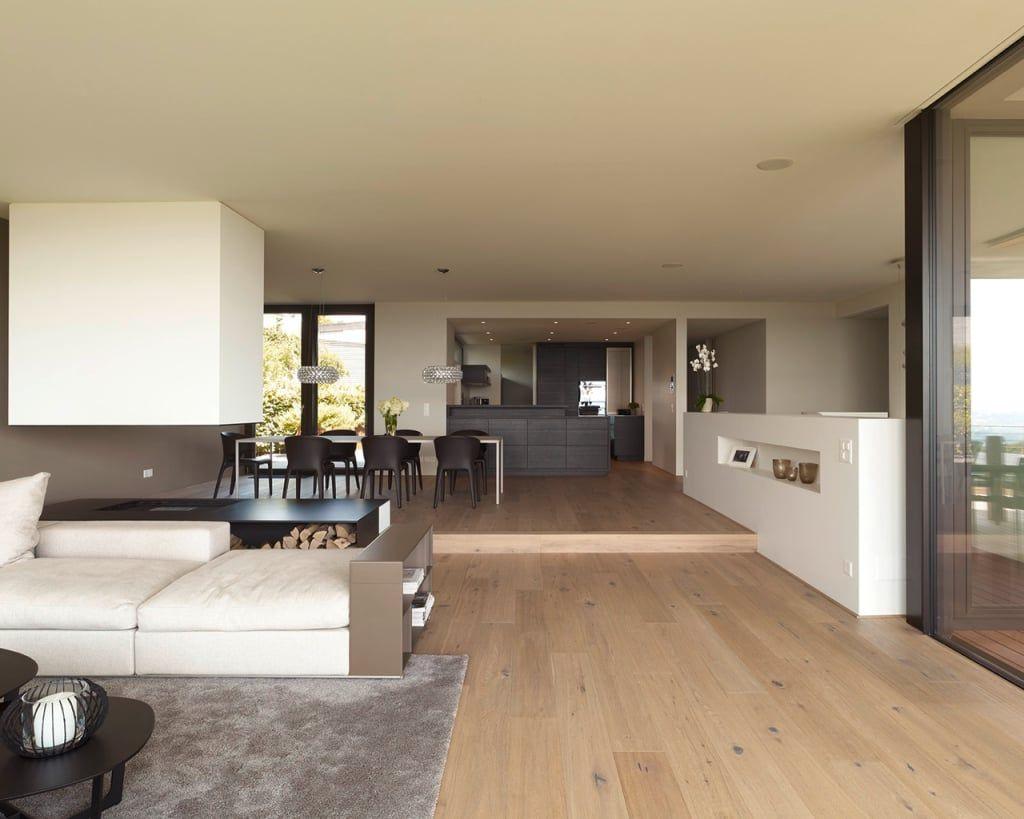 Objekt 10 / meier architekten moderne wohnzimmer von meier