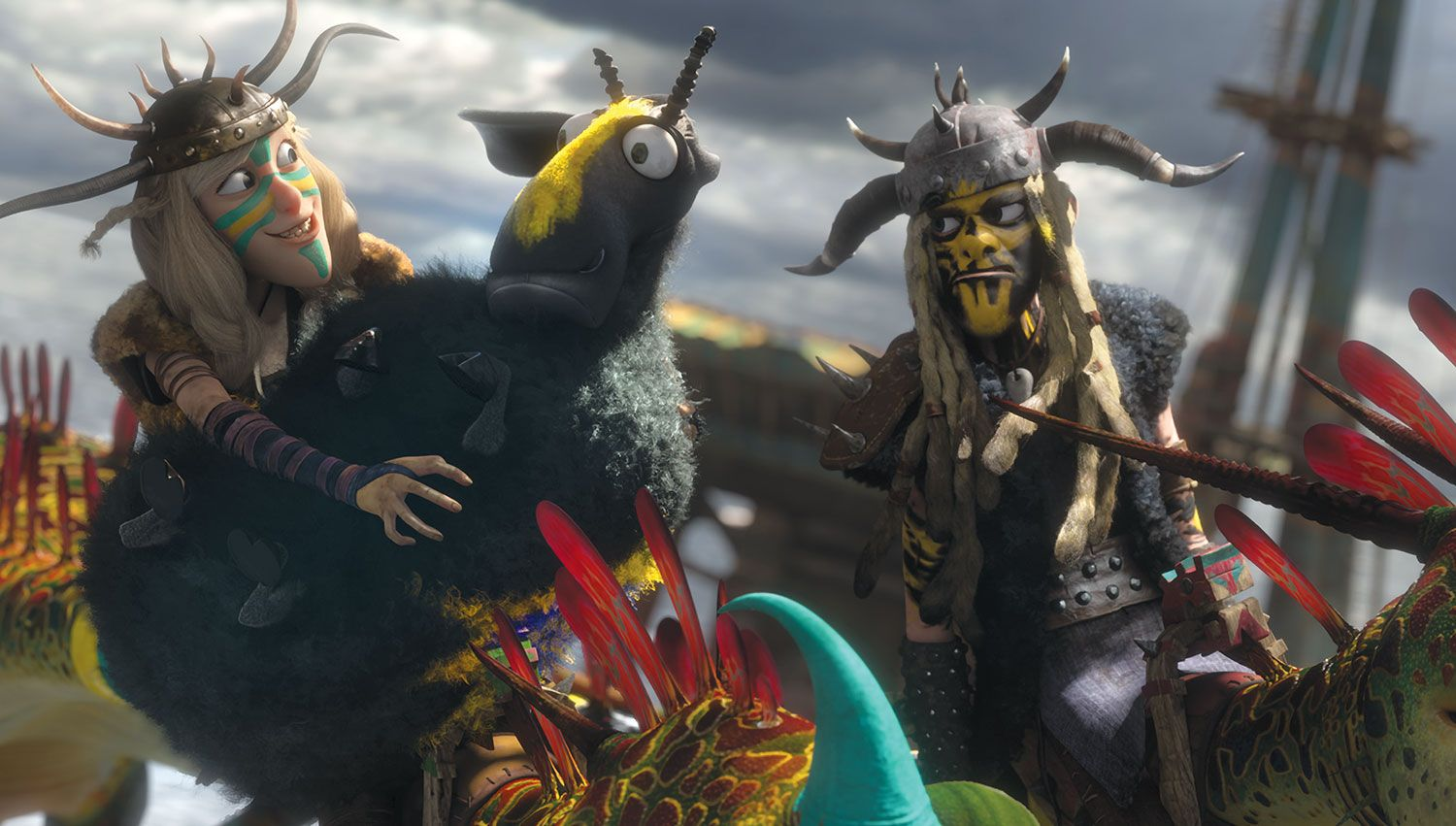 How to Train Your Dragon 2 I love these two Especially the guy
