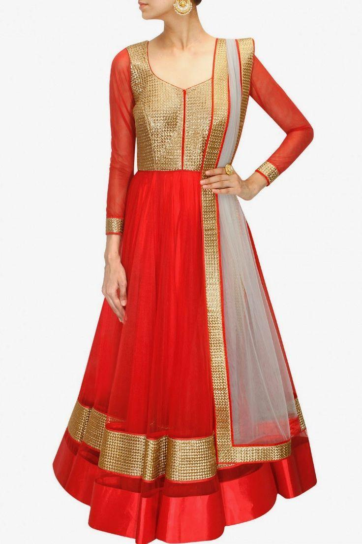 Fancy Umbrella frock designs Churidar Suits 2015-16 for Women ...