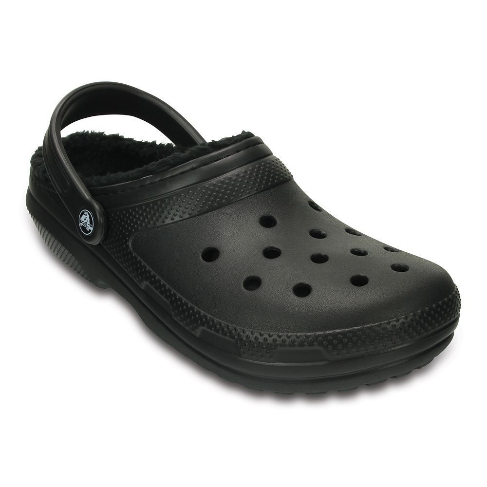 Crocs classic fuzz lined adult clogs with images crocs