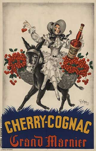 Cherry Cognac poster | Vintage posters, Botanical ...