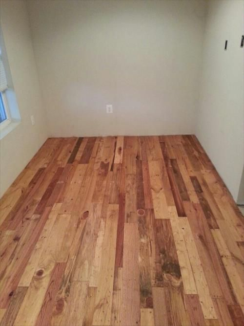 Pallet Wood Flooring More Reliable And Priceless Eal Pallets Designs