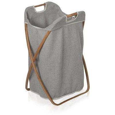 Photo of Union Rustic Bamboo Foldable Hamper Laundry with Carry Handles