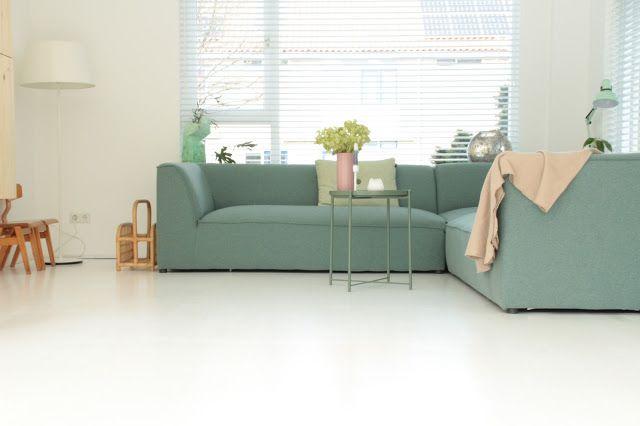 Houten vloer wit schilderen vloer verven histor histor trapverf