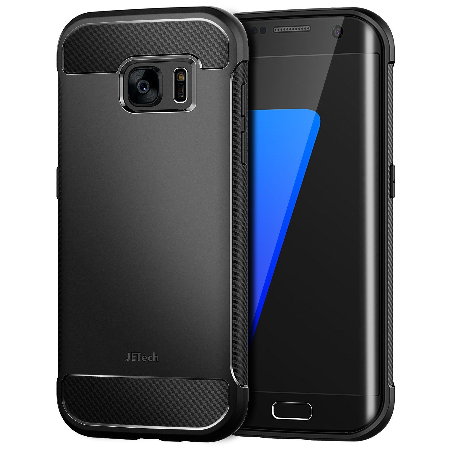 free shipping a1c15 12274 JETech Case for Samsung Galaxy S7 Edge Protective Cover with Shock ...