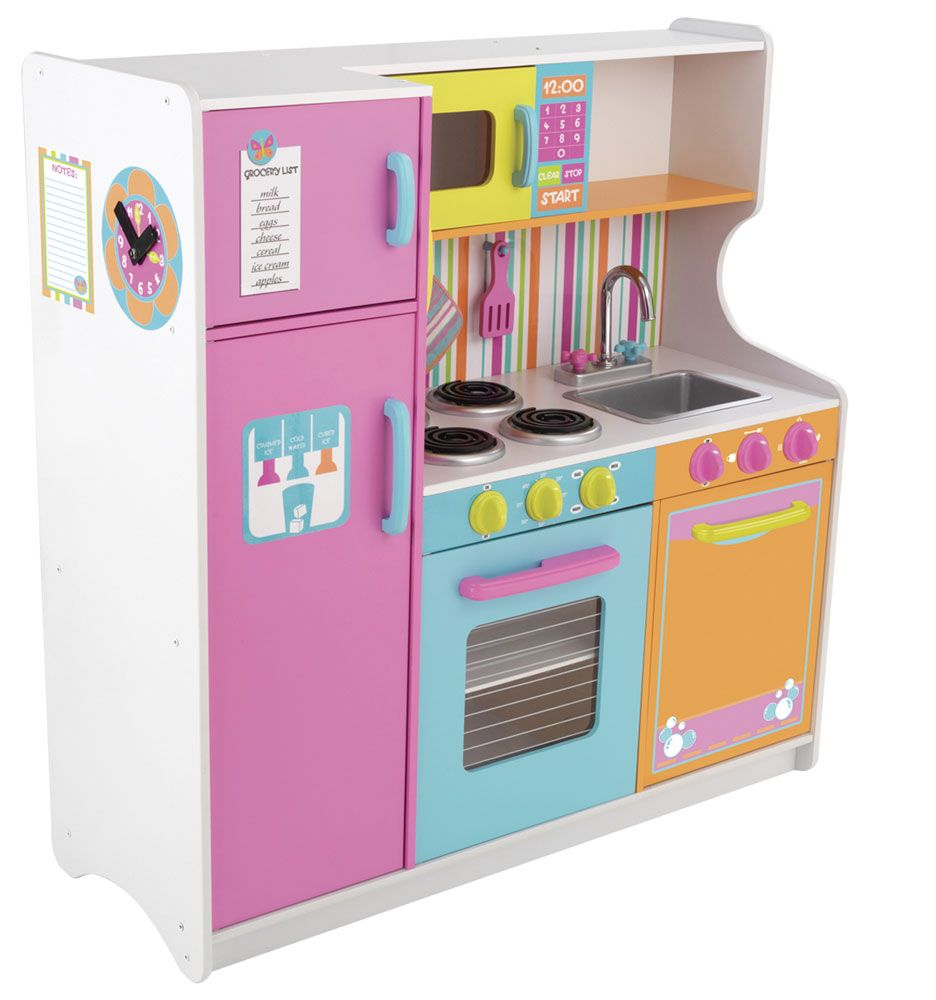 How to choose the perfect kids kitchen playsets kitchen for Toy kitchen set
