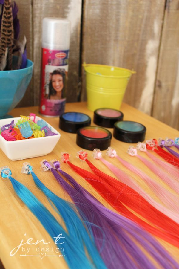 Salon Birthday Party Part 1 The Decor Kids Party Ideas Kids