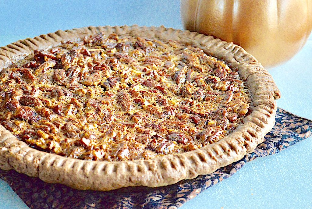 This bourbon bacon pecan pie is an incredible take on the classic and an absolute must in the coming weeks for your Holiday table!
