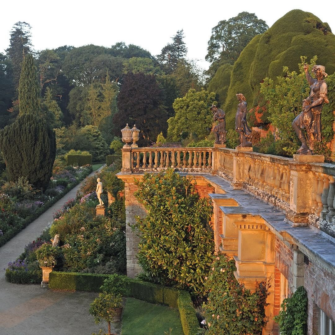"""Powis Castle Garden, Welshpool, Powys. """"There\'s a heightened sense ..."""