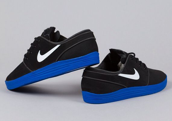 5bd444cda3 Nike SB stefan janoski lunar black/ blue sole | SHOES | Sneakers ...