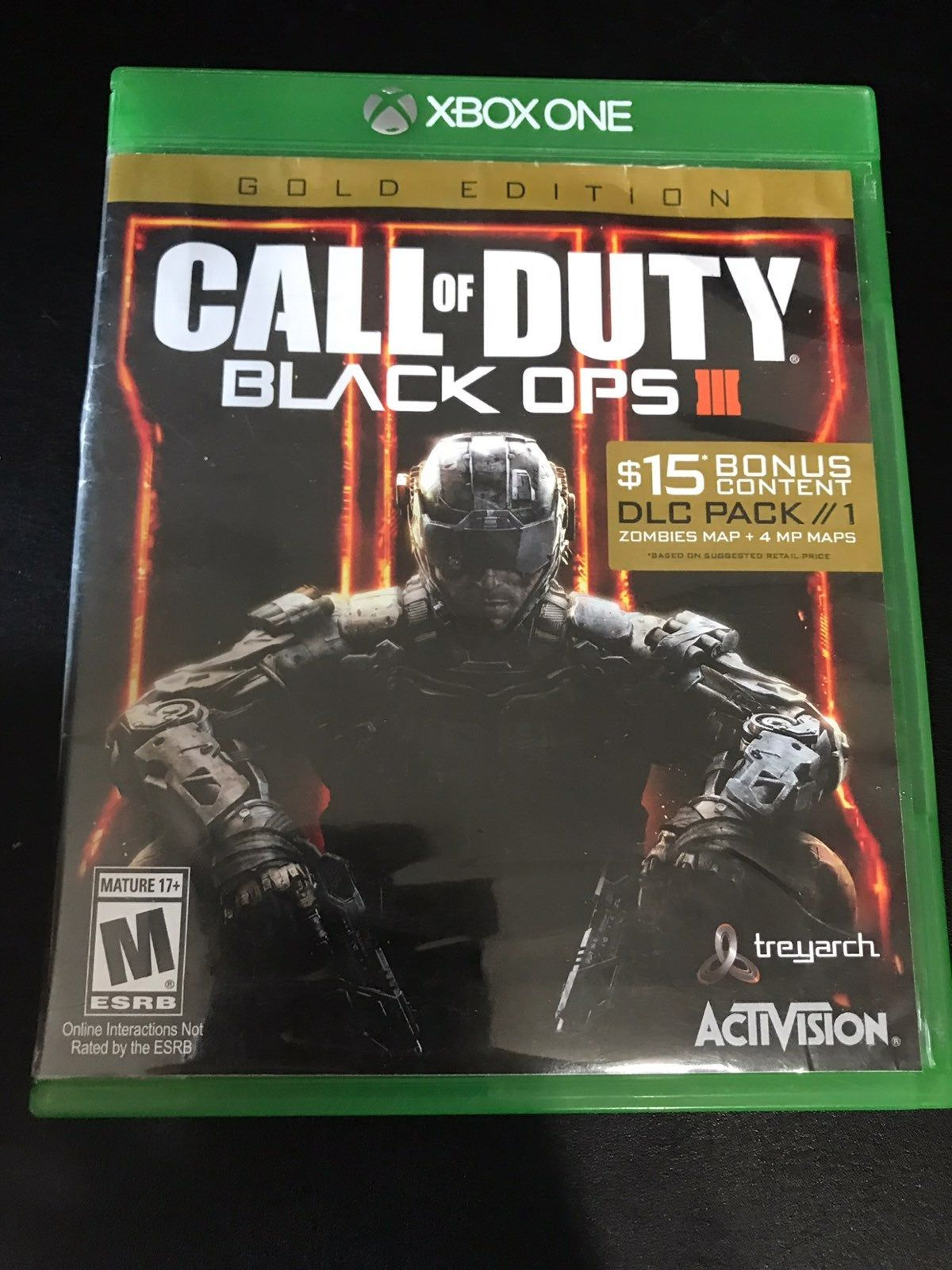 Call Of Duty Black Ops 3 Xbox One Used Call Of Duty Black Ops 3 Call Of Duty Black Call Of Duty