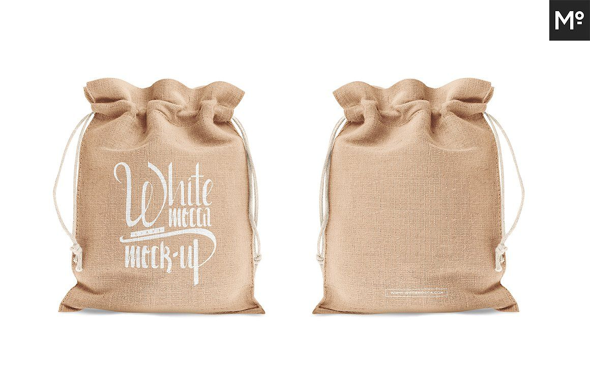 Download Drawstring Burlap Jute Bag Mock Up Jute Bags Jute Bags Design Bags