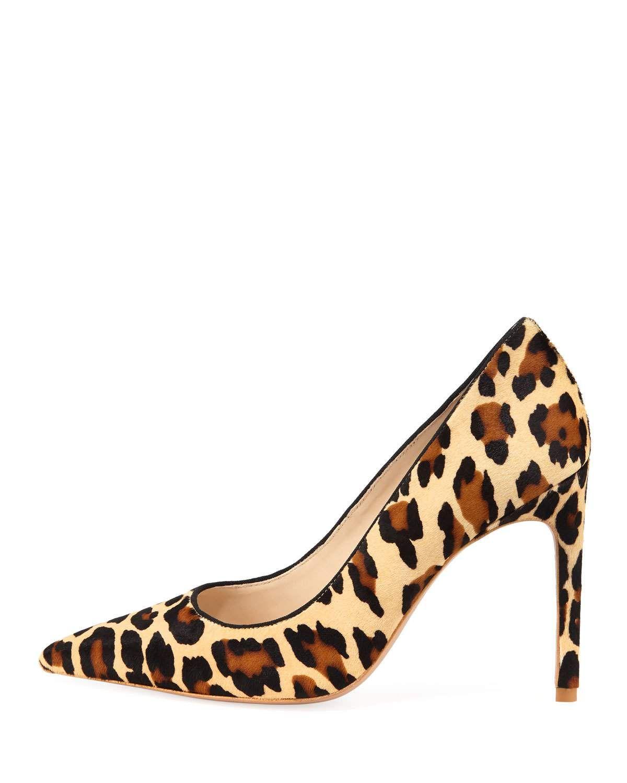9b8cddd63228 Sophia Webster Rio Leopard Animal-Print High-Heel Pumps