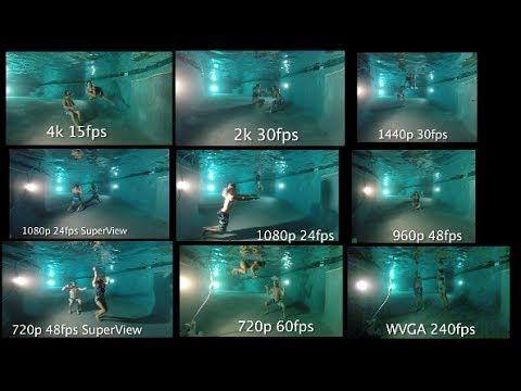 Tip #260 GoPro Hero3+ Black Low Light Underwater Test