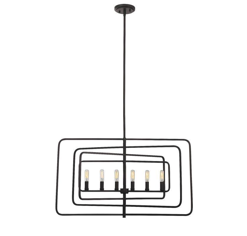 Savoy House 1-820-6 Berlin 6 Light Chandelier English Bronze Indoor Lighting Chandeliers