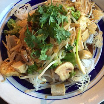 Phoenix Garden Vegetarian Restaurant Richmond Va Crispy Rice Noodles With Veggies Tofu