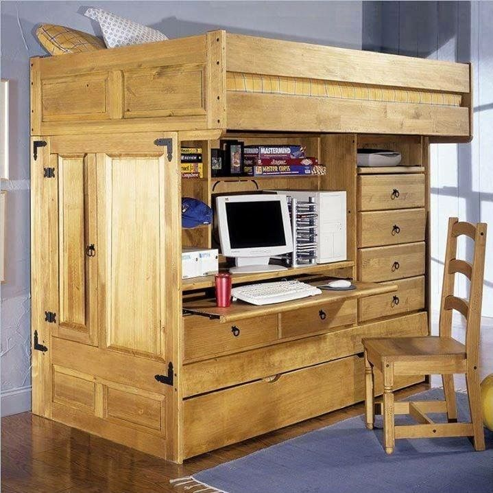 ... Kinderbetten, Etagenbetten Für Kinder, Loft Etagenbetten, Hochbett  Rahmen, Bettgestelle, Teenager Hochbetten, Doppelrollbett, Hochbett  Schreibtisch