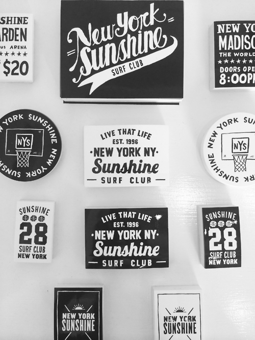 Stickers hand lettering type typography illustration graphic design