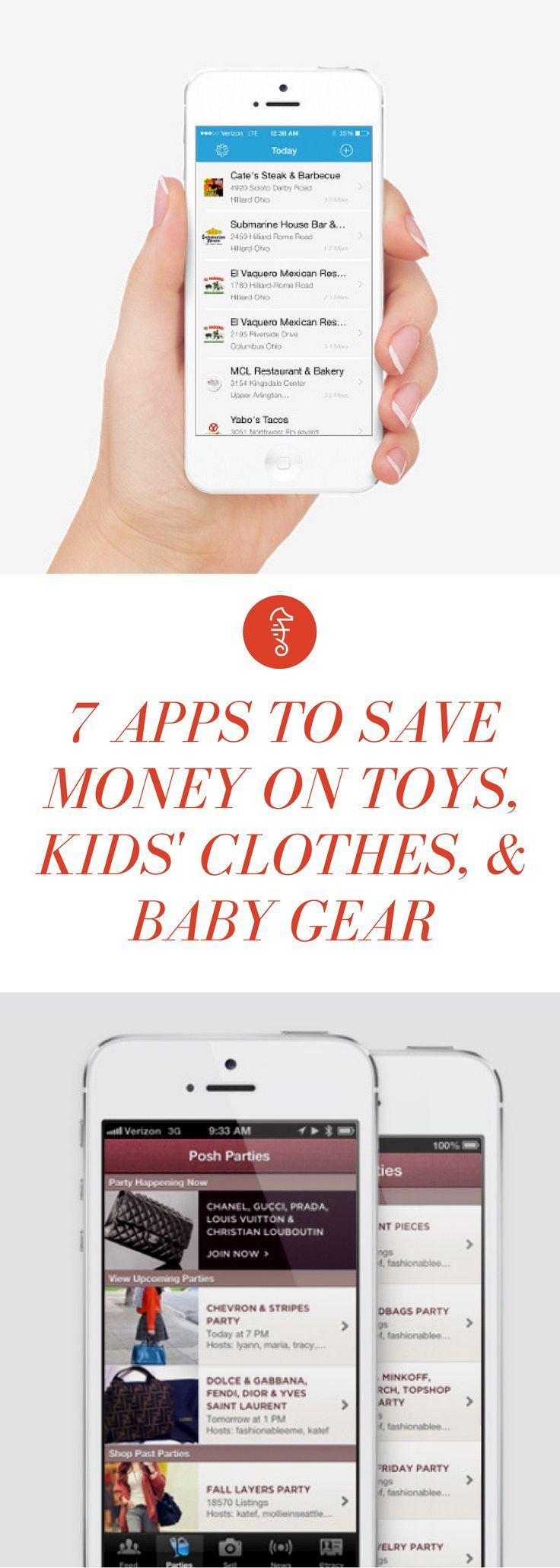 7 Apps to Save Mad Money On Toys, Kids' Clothes, and Baby