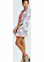 boohoo Calista Fringed Tile Print Kimono - white azz26238 Outerwear gets oriental with the kitsch kimono . This folk-inspired fashion piece, with arty aztec and edgy ethnic prints, livens up a little black dress and makes day wear directional. Team with a ta http://www.comparestoreprices.co.uk/womens-clothes/boohoo-calista-fringed-tile-print-kimono--white-azz26238.asp