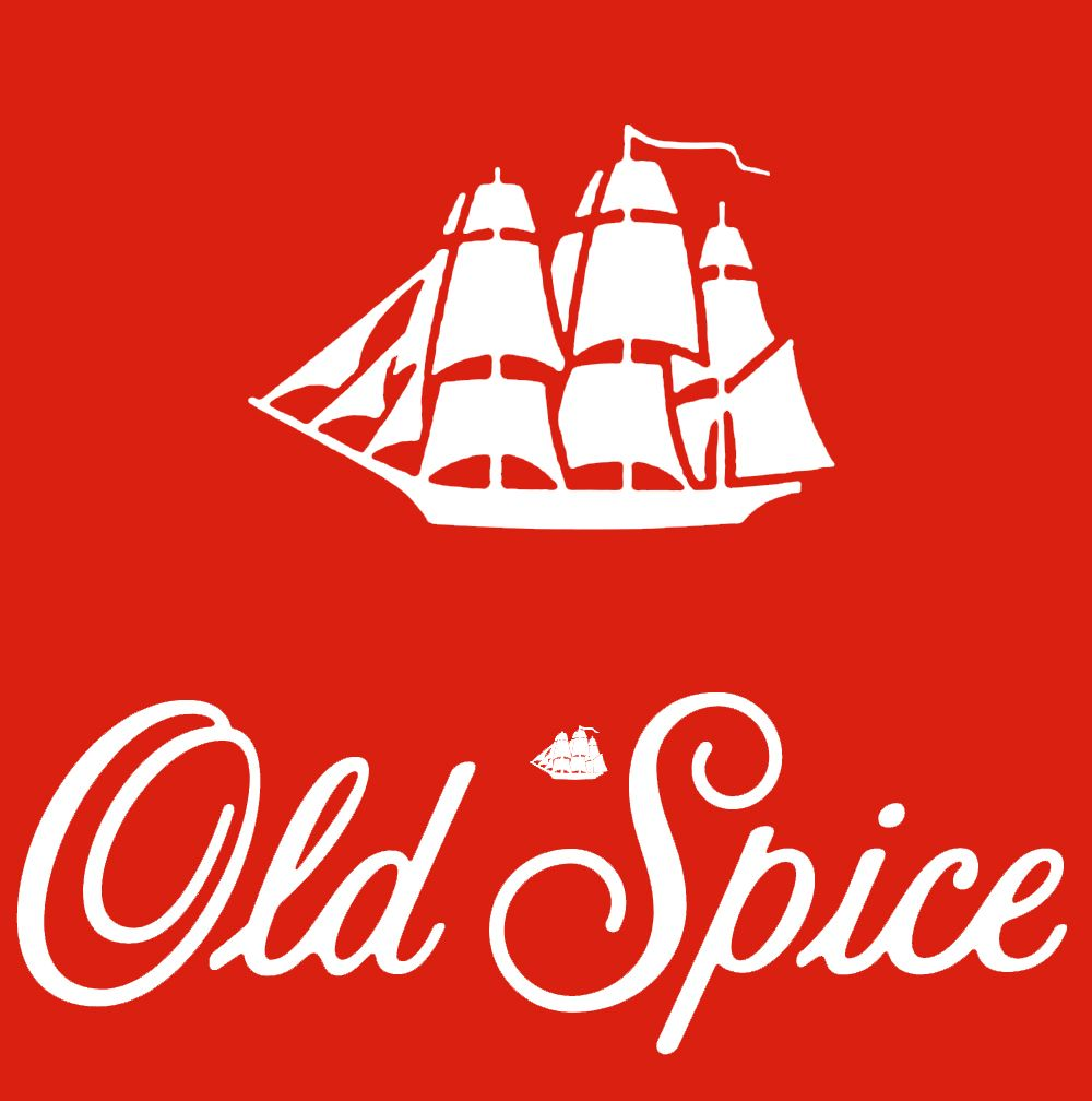 The Old Spice logo. #classic Can still smell Dad's after shave ...